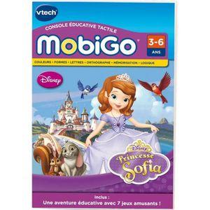 JEU CONSOLE ÉDUCATIVE VTECH Jeu Mobigo Princesse Sofia