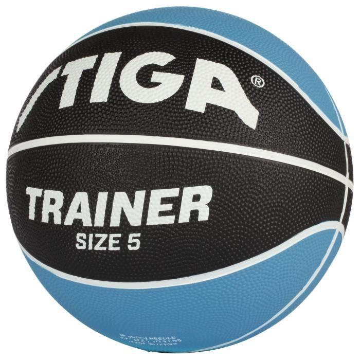STIGA Ballon de basket-ball Trainer - Bleu et noir - Taille 5
