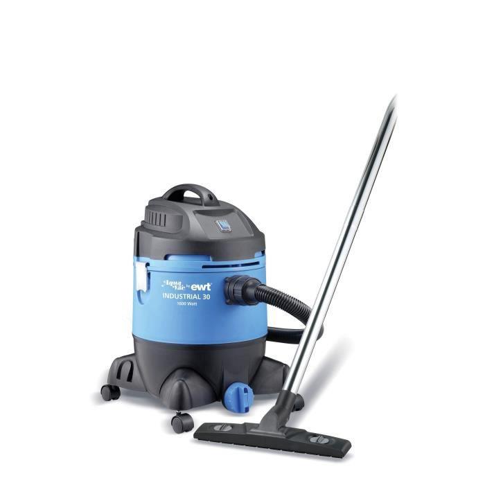 EWT AINDUS30 Aspirateur industriel – 30L – 1600W – Noir/Bleu