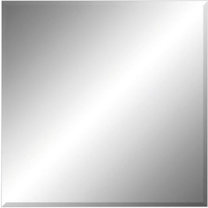 miroir biseaute achat vente miroir biseaute pas cher cdiscount. Black Bedroom Furniture Sets. Home Design Ideas