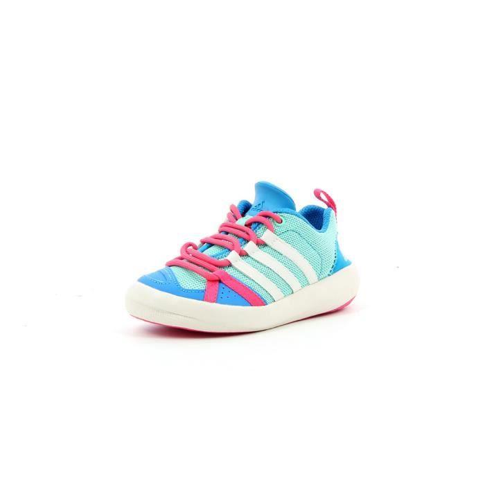 Chaussures Garçon Adidas Boat Lace Bleu