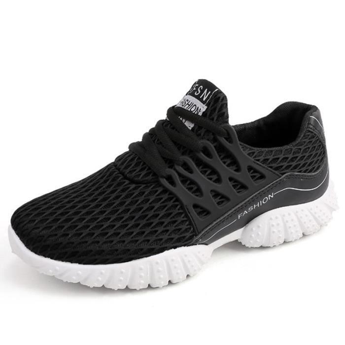 Basket Homme Ultra Léger Chaussures De Sport Populaire BLKG-XZ129Noir44 011aef56821