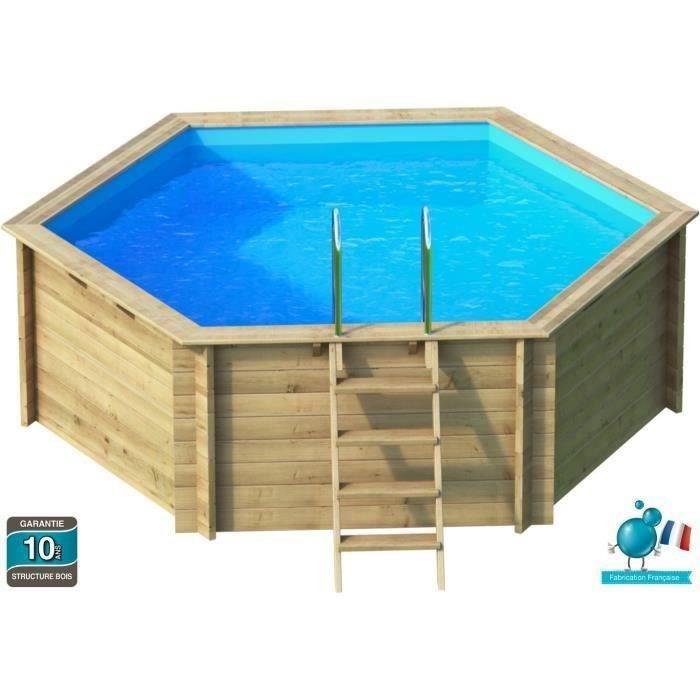 piscine bois hauteur 1 m