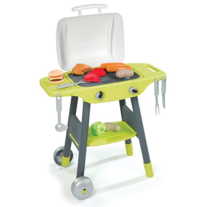 Smoby Barbecue Plancha Enfant 3032160242058 Achat