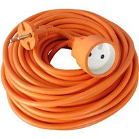 RALLONGE ZENITECH Rallonge électrique HO5VVF 2 x 1.5 orange