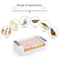 COUVEUSE - INCUBATEUR 24-Oeufs Incubateur machine d'Eggs Automatique Con