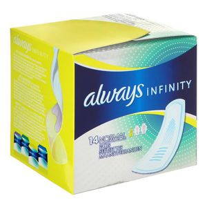 ALWAYS Serviettes hygi?niques Infinity Normal x14
