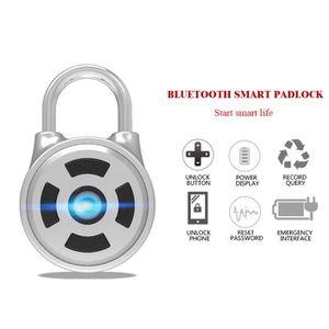 SERRURE - BARILLET Valise sac à dos de voyage pour cadenas Bluetooth