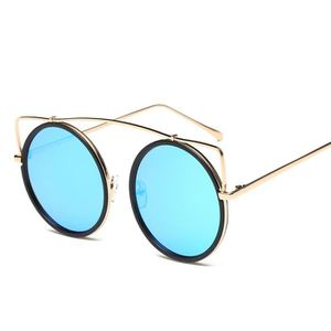 LUNETTES DE SOLEIL Hommes Femmes Lunettes lentilles claires métal lun