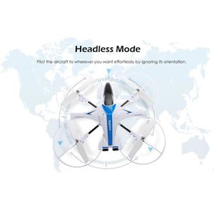 DRONE LJF70726421BU®Cadeau Syma X14W RC Drones avec camé