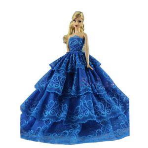 40f8bfdfc90 ACCESSOIRE POUPÉE Belle princesse mariage Costume Party robe de soir