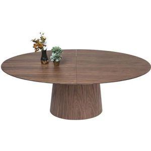TABLE À MANGER SEULE Table à rallonges Benvenuto noyer Kare Design