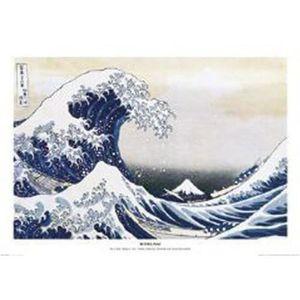 AFFICHE - POSTER Empire Poster de Katsushika Hokusai La grande vagu