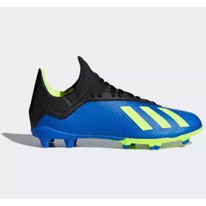 CHAUSSURES DE FOOTBALL Adidas X 18.3, Gazon synthétique, Enfant, Unisexe,