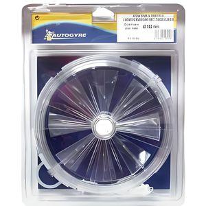 AÉRATION Aérateur à tirettes cristal - D: 192 mm