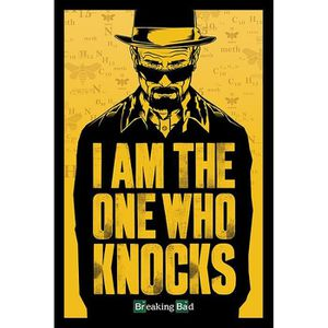 AFFICHE - POSTER Poster Breaking Bad I am the one who knocks
