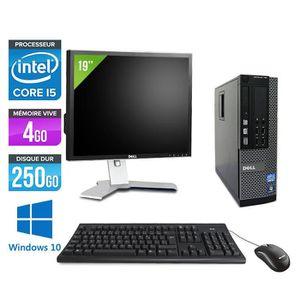 UNITÉ CENTRALE  Pc de bureau Dell 790 SFF - i5 - 4Go - Windows 10+