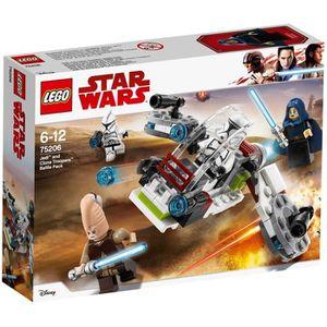 ASSEMBLAGE CONSTRUCTION LEGO® Star Wars™ 75206 Pack De Combat Des Jedi Et