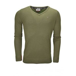 79a90a1ab5a8 Pull tommy hilfiger col v homme - Achat   Vente pas cher