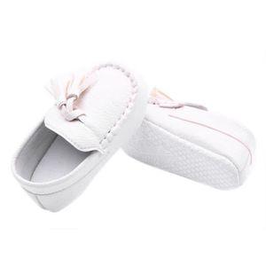 2b8539de68c15 MOCASSIN Tout-petit bébé Faux Mocassins en cuir Chaussures