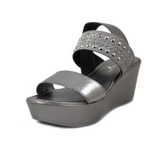 bb5bbb9b098e50 SANDALE - NU-PIEDS CINZIA SOFT, Chaussures femme sandales talon compe ...