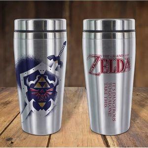 BOL - MUG - MAZAGRAN Mug de voyage Zelda - Link