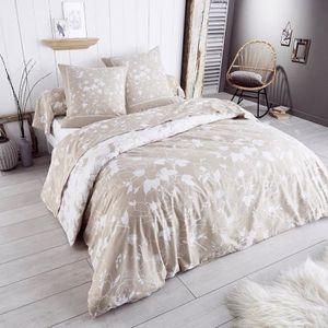 parure de lit flanelle achat vente parure de lit flanelle pas cher soldes d s le 10. Black Bedroom Furniture Sets. Home Design Ideas
