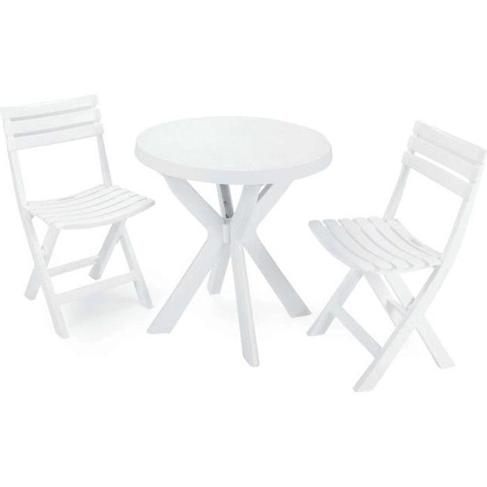 Ensemble table et chaises Balcon
