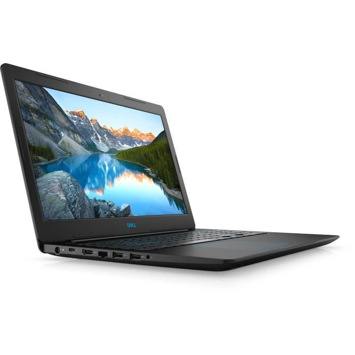 DELL PC Portable Gamer Inspiron G3 15-3579 FHD IPS - 8Go - Core i7-8750H - 128Go SSD + 1 To HDD 5400 rpm HDD - GTX1050Ti 4GB