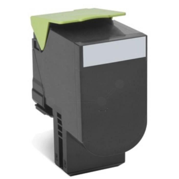 LEXMARK Cartouche de toner 802HKE - Capacité standard 4.000 pages - Pack de 1 - Noir