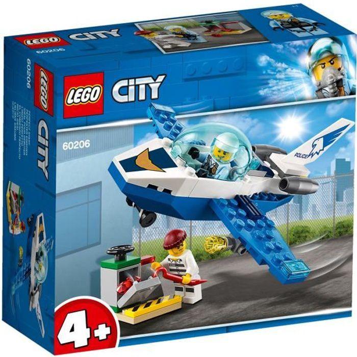 LEGO® City 60206 Le jet de patrouille de la police