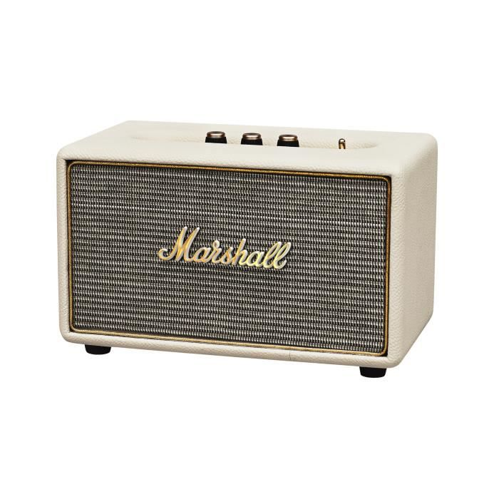 MARSHALL ACTON Enceinte Bluetooth - Crème