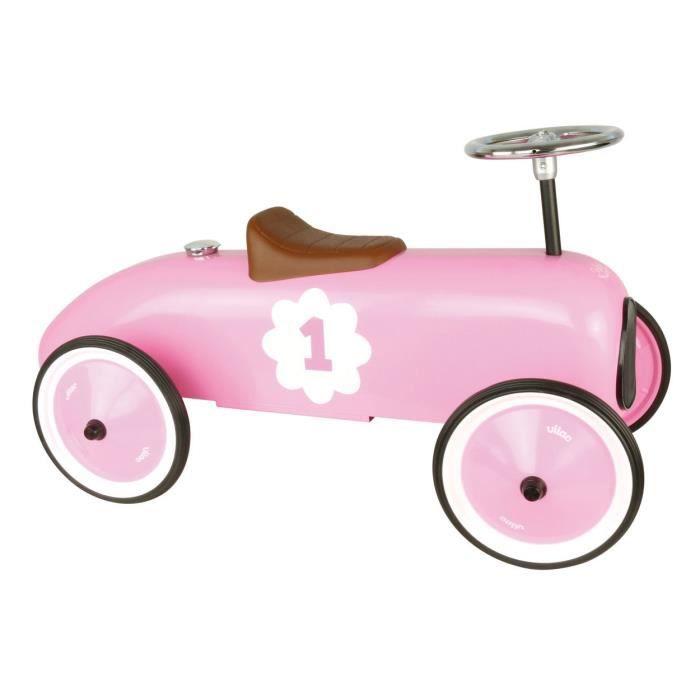 Porteur voiture Vintage rose aille Unique Coloris Unique - Achat ... 9a40c176db9