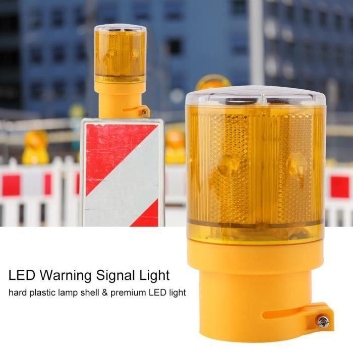 AMPOULE - LED Voyant  d'alarme solaire LED pour circulation/jard