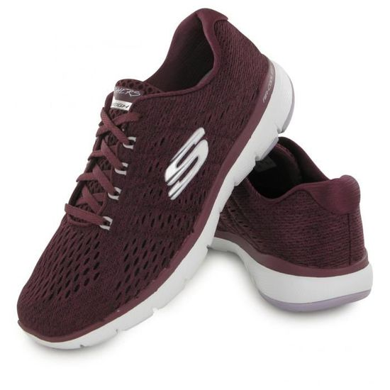 Appeal Bordeaux 3 Skechers Chaussures 0 Flex Femme Rouge 04tyqwt 6gyYbf7