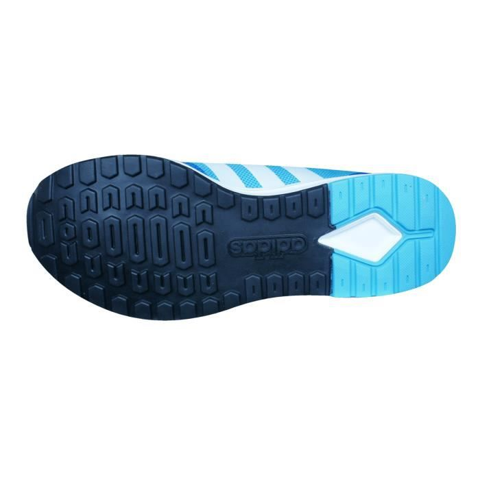 adidas Neo V Racer TM II JQD Hommes Courir Baskets - Chaussures Bleu 8.5