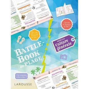 LIVRE JEUX ACTIVITÉS Battle-Book de plage spécial Culture générale