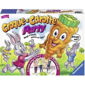RAVENSBURGER Jeux de Société Croque Carotte Party