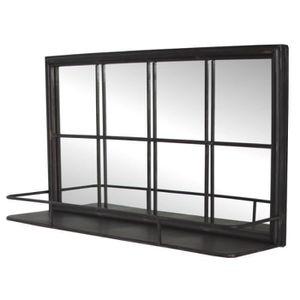 Miroir industriel achat vente pas cher for Long miroir mural pas cher