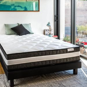 MATELAS Matelas ressorts ensachés 140x190 Spring Luxe Hbed