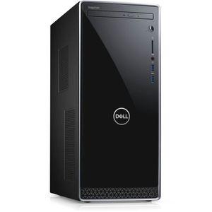 UNITÉ CENTRALE  DELL PC de Bureau Inspiron 3670 - Core i3-8100 - R