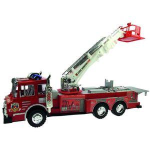VOITURE - CAMION Jouet Camion de pompier - L. 52 cm - Rouge