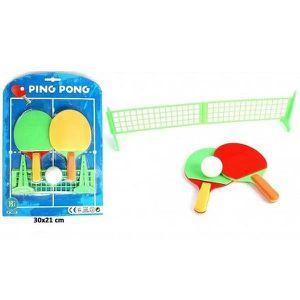 KIT TENNIS DE TABLE Set de Ping Pong avec Raquette Balle et Filet - Je
