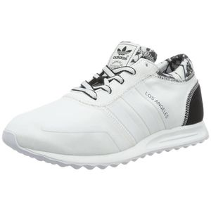 Baskets Low Femme adidas Los Angeles chaussures blanc