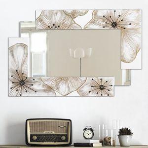 Miroir a decorer achat vente miroir a decorer pas cher for Miroir design italien
