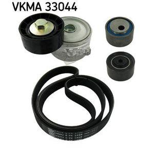 COURROIE TRAPÉZOÏDALE SKF Kit courroie d'accessoire VKMA 33044