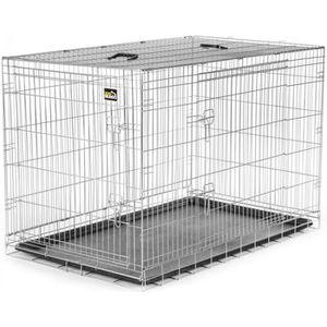 cage de transport pour chien en aluminium achat vente. Black Bedroom Furniture Sets. Home Design Ideas