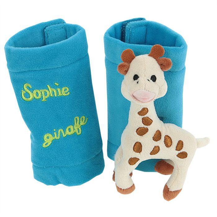 VULLI Protège Enrouleur Bleu Sophie La Girafe