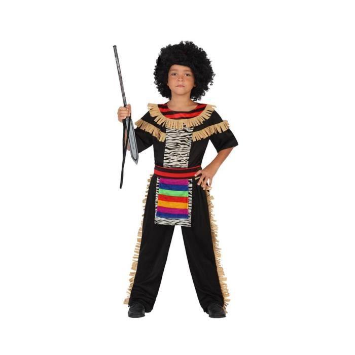 ATOSA Deguisement De zoulou Garcon - Panoplie Enfant