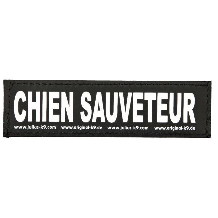 TRIXIE 2 Stickers Velcro Julius-K9 - S - Chien Sauveteur - Pour chien